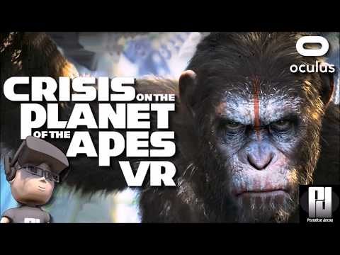 MONKEYING AROUND In CRISIS ON THE PLANET OF THE APES VR // Oculus + Touch // GTX 1060 (6GB)