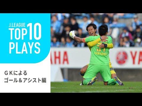 【TOP10 PLAYS】ゴールキーパーだってゴールを決める!ゴールキーパーによるゴール&アシスト編