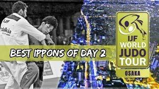 Best ippons in day 2 of Judo Grand Slam Osaka 2018