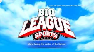 Big League Sports Title Screen (Xbox 360)