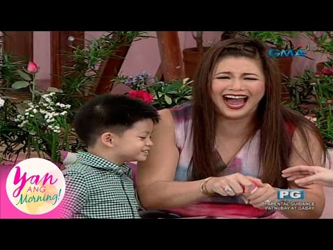 Yan Ang Morning!: Regine Velasquez-Alcasid tawang-tawa sa so