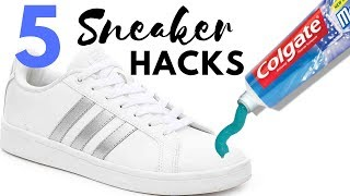 Life Hacks for Shoes YOU SHOULD KNOW | 5 Sneakers Tricks All Guy Should Know
