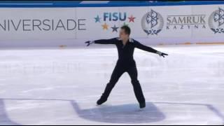 Abzal RAKIMGALIEV - FP / Winter Universiade 2017