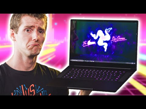 The PROBLEM with OLED Laptops... Razer Blade 15 2019 Review