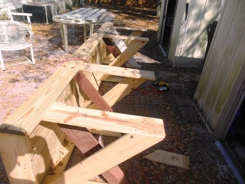 How to Make a Large, Strong WorkBench