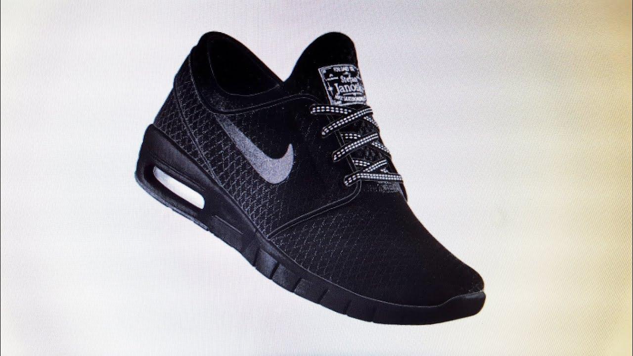 Nike Sb Janoski Max Network Mesh Negro Hombres Health Network Max 26ded7