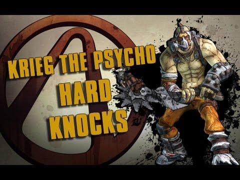 Borderlands 2 Krieg the Psycho (Level 45 Gameplay Montage)