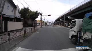 青バイによる 信号無視 取り締まりの瞬間 青バイ 検索動画 3