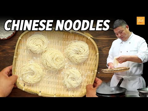 Simple Chinese Noodles Recipe By Masterchef • Taste, Authentic Chinese Food