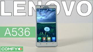 видеодемонстрация смартфона Lenovo A536 от Comfy