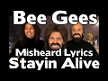 SO SO FUNNY The Bee Gees Misheard Lyrics Stayin Alive With Stevie Riks mp3