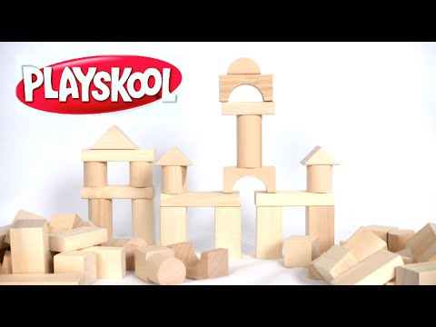 Playskool Natural Building Blocks From Maxim Enterprise Inc