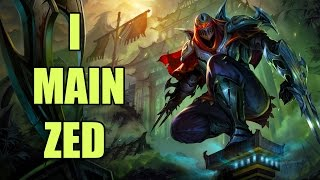 So you want to main Zed?