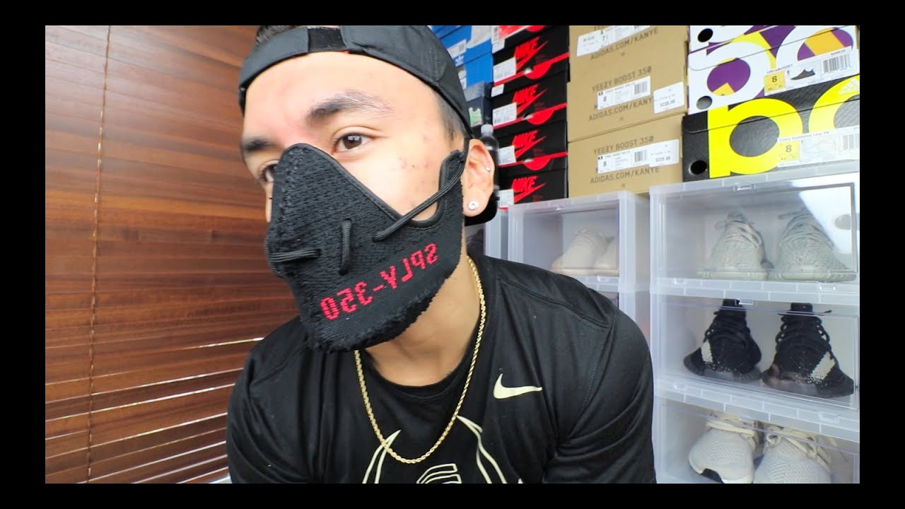 CUSTOM YEEZY CORONAVIRUS FACE MASK! - YouTube
