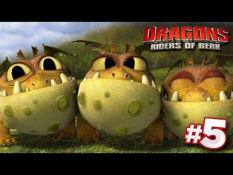 FINDING DRAGON EGGS!   DRAGONS : Rise Of Berk - Ep5 HD