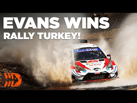 Elfyn Evans WINS Rally Turkey 2020!