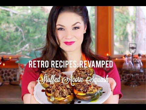 RETRO RECIPES: REVAMPED | Stuffed Acorn Squash