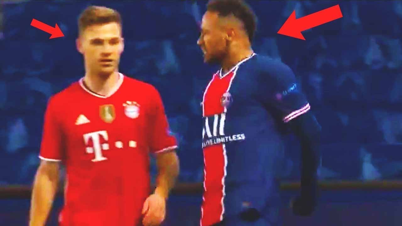 This is WHAT REALLY HAPPENED between NEYMAR and KIMMICH! PSG BAYERN | CHAMPIONS LEAGUE