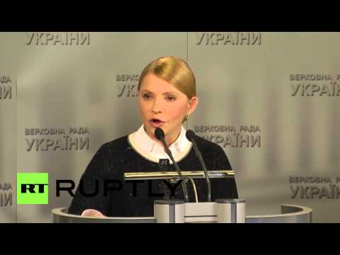 "Ukraine: Tymoshenko submits draft law ""to root out corruption"""