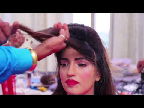 anurag makeup mantra, classic look  new creation & trendy hairstyle   10 days hair style diploma fu