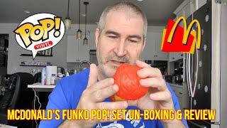 2020 McDonalds Funko Pop Ad Icon Set Un-Boxing! 🍔🍟