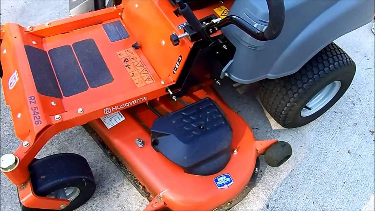 Husqvarna 5426 Wiring Diagram Rz Zero Turn Mower Review Followup Youtube 1280x720