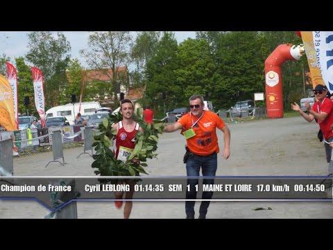 Championnat de France de semi-marathon sapeurs pompiers 2016.