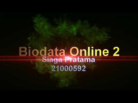 Form Biodata Online Part 2