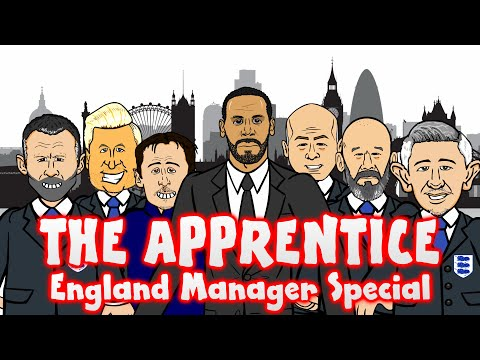 Rio Ferdinand COLLAB! The APPRENTICE: England Manager! (+Shearer, Neville, Savage, Giggs, Lineker)