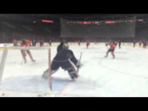 Flyers goalie Michal Neuvirth prepares for first start