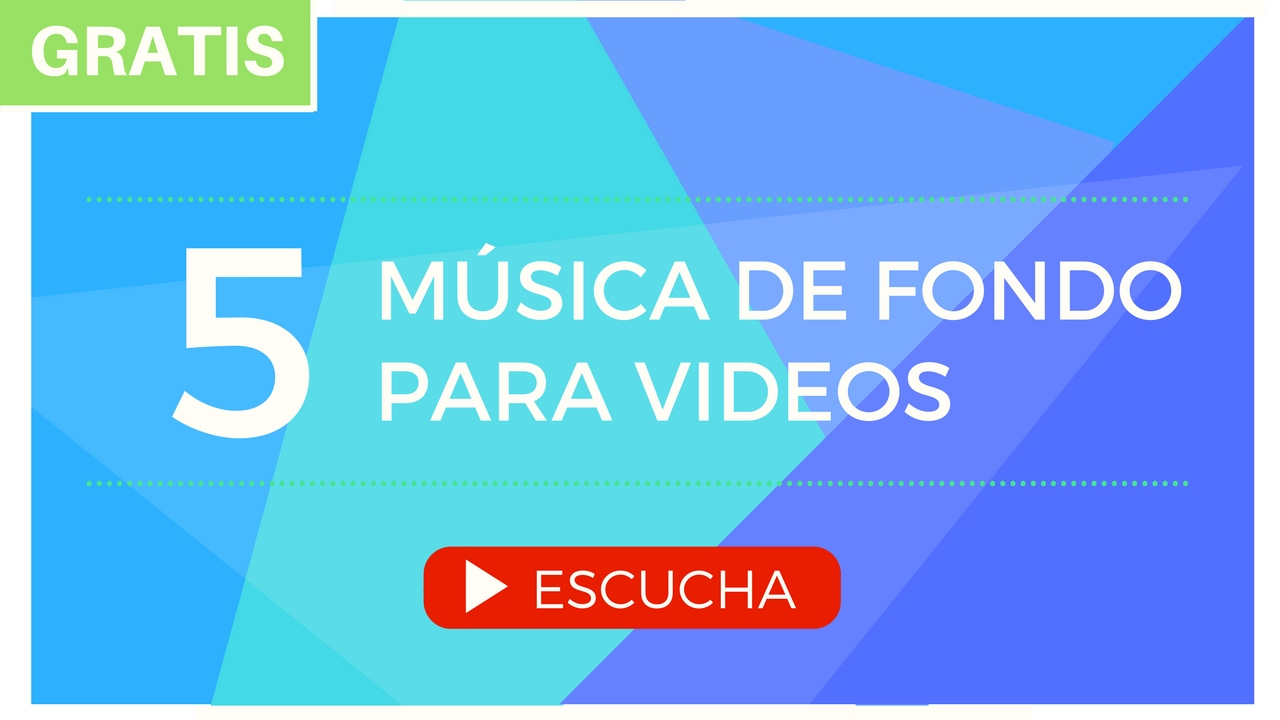 Música De Fondo Para Videos (Presentaciones, Educativos