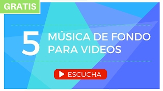 Música de Fondo para Videos (Presentaciones, Educativos, YouTube, Instrumental) GRATIS thumbnail