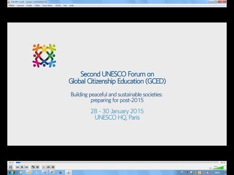 Second UNESCO Forum on Global Citizenship Education