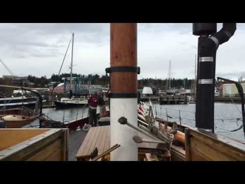Schooner Adventuress leaves Boat Haven for Point Hudson Time Lapse