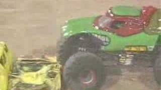 MONSTER JAM - NINJA TURTLE TRUCK - EL PASO TEXAS