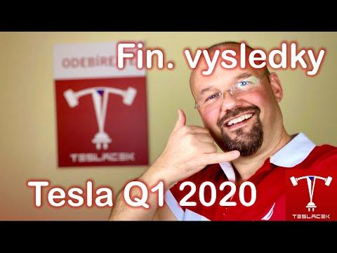 #171 Tesla Finanční výsledky Q1 2020 | Teslacek