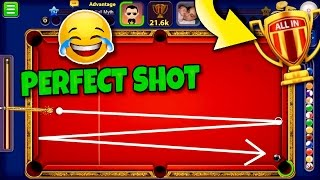 8 Ball Pool Monaco All-In - EXQUISITE INDIRECT TRICK SHOT FOR VICTORY | Galaxy Cue Gameplay