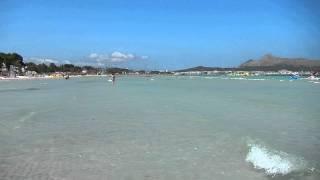 Alcudia beach Mallorca Baleares