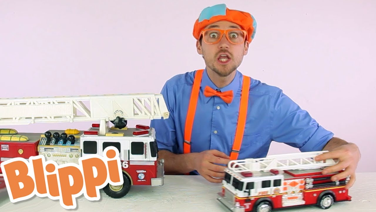 Learn Sizes with Fire Trucks - Educational Videos for Kids