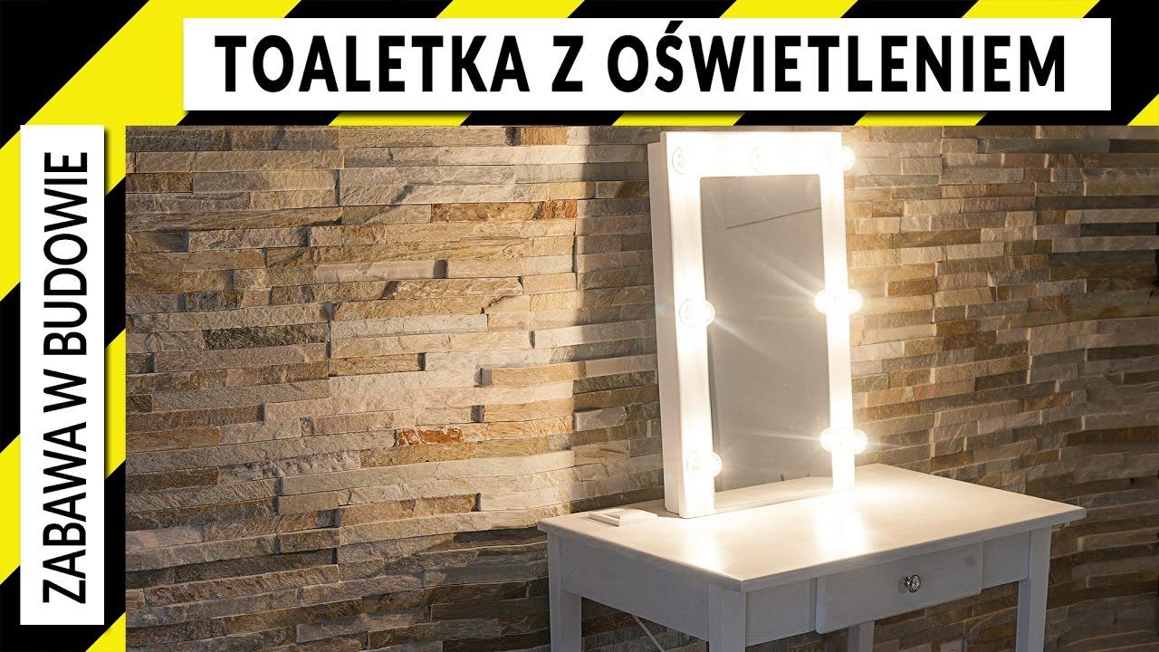 Jak Zrobić Toaletkę Z Szufladą Oświetleniem I Lustrem