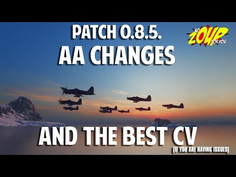 Best CV after 0.8.5 and AA Changes in WoWS