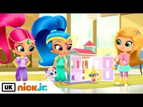 Shimmer And Shine Dream Dollhouse Nick Jr Uk Rzhachnye Video