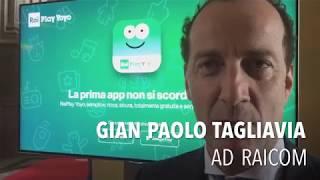 Creatività e innovazione, AD Rai Com Tagliavia presenta la nuova App per i bambini - AGIPRESS