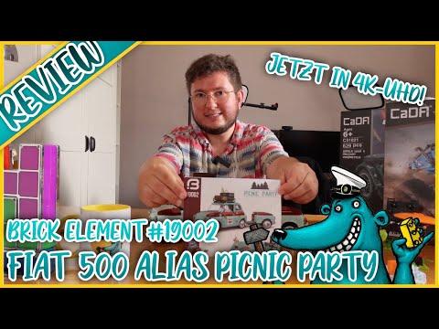 Brick Element 19002 Picnic Party - Dreist von LEGO + MOCern geklaut!