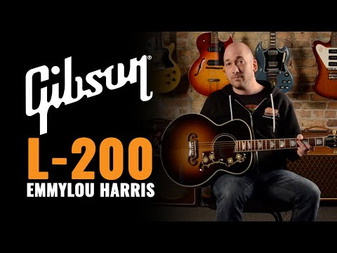 Gibson L-200 Emmylou Harris Signature Acoustic Guitar