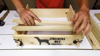 How To Build Frames Quickly For Langstroth Bee Boxes