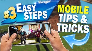3 EASY STEPS to Improve Your Skills in Fortnite Mobile! - [Tips & Tricks]