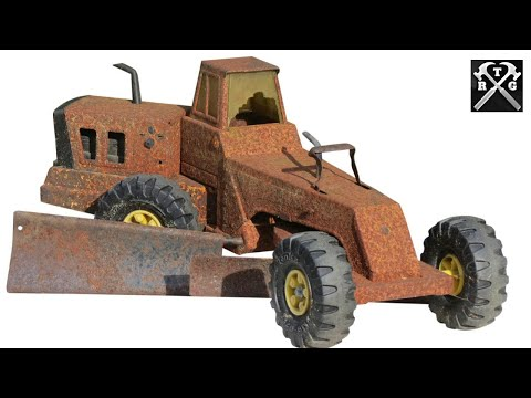 Can This Ever Look New Again!? - Watch To Find Out! - 1975  Tonka Grader Restoration