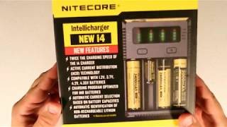 eDC/PREPARED: Nitecore i4 Battery Charger Unboxing Review