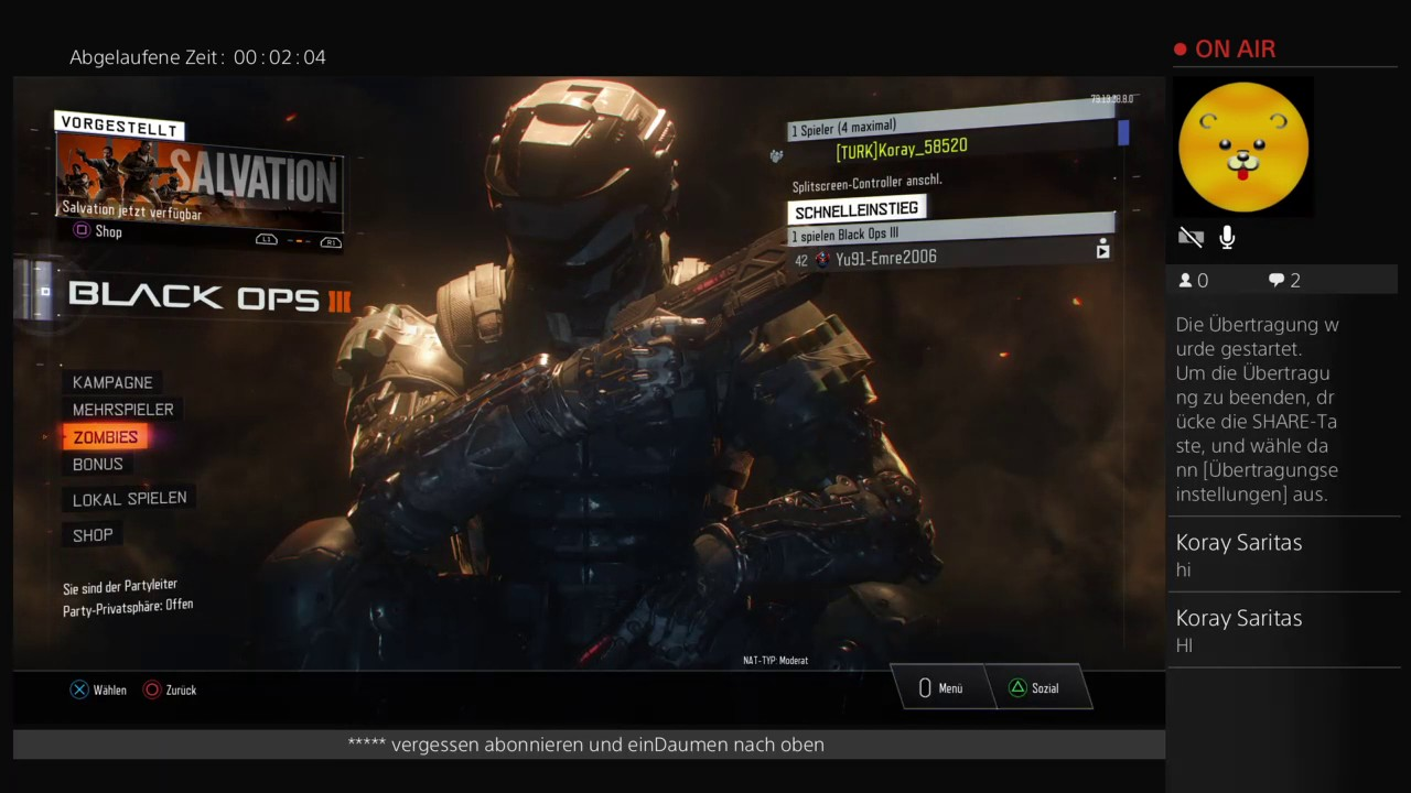 Call of duty black ops 3 Zombie - YouTube